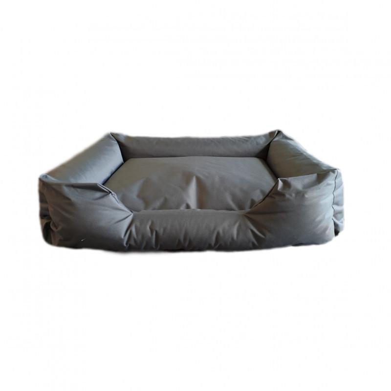 sofa tissu gris